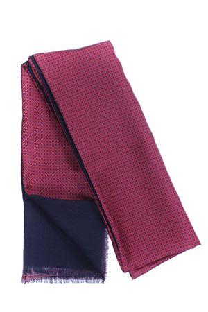Sciarpa doppiata seta/lana disegno cravatta LA FERRIERE | 5032273 | SDPARIGI31033