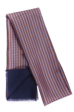 Sciarpa doppiata seta/lana disegno cravatta LA FERRIERE | 5032273 | SDPARIGI31053