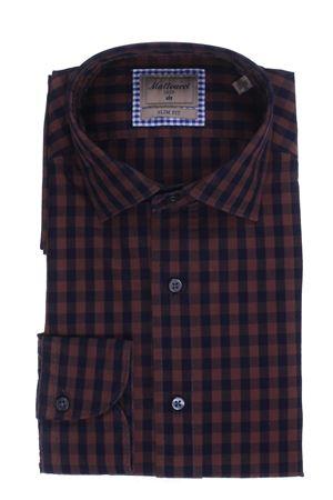 Cotton check shirt MATTEUCCI 1939 | 5032279 | B163LJ08421470