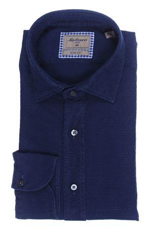 Cotton jacquard shirt MATTEUCCI 1939 | 5032279 | B163LJ0846151