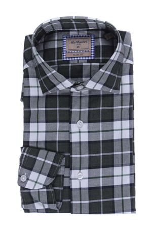 Check shirt in flannel