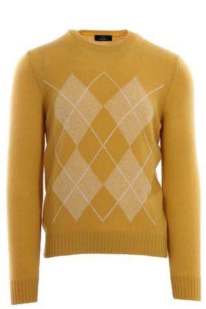 Girocollo argyle in air wool N&L | -161048383 | 1311722620320