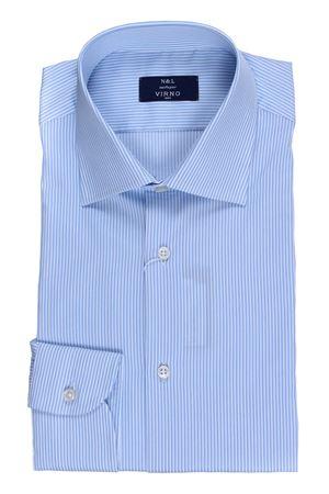 Camicia in cotone a righe N&L | 5032279 | GH45501