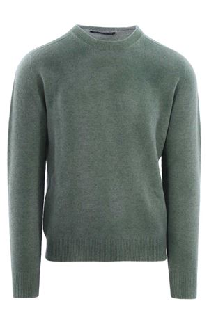 Wool crew neck