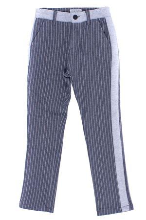 Pantalone gessato PAOLO PECORA | 5032272 | PP1477GRIGIO MELANGE