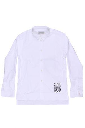 Camicia in cotone strech PAOLO PECORA | 5032279 | PP1518BIANCO