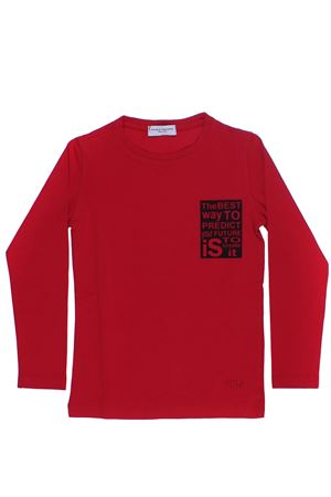T-shirt in cotone PAOLO PECORA | 8 | PP1625ROSSO