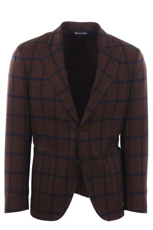 Aria jacket in check di lana PARTHENOPE | 5032284 | 5852ARIA2