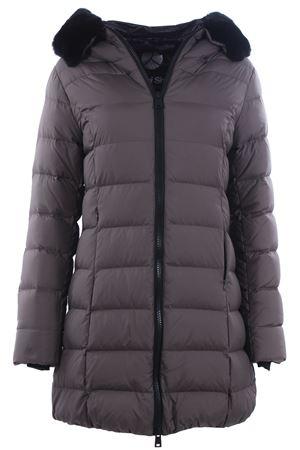 Quilted down jacket with hood PEOPLE OF SHIBUYA | 5032285 | KIMONONP009257