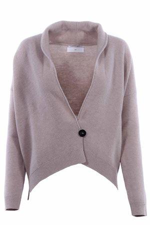 Cardigan in lana con revers a scialle POMANDERE | -161048383 | 18281887407116
