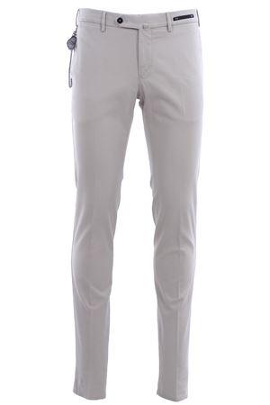 Pantaloni dalì in microarmatura di cotone stretch delavè PT01 | 5032272 | CPDL01ZC0DASTU650030
