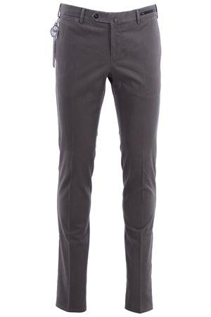 Pantaloni dalì in microarmatura di cotone stretch delavè PT01 | 5032272 | CPDL01ZC0DASTU650120