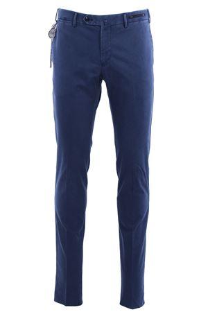 Pantaloni dalì in microarmatura di cotone stretch delavè PT01 | 5032272 | CPDL01ZC0DASTU650340