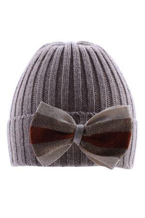 Cappello con fiocco REGINA | 5032304 | 80063AMBRAAMBRA