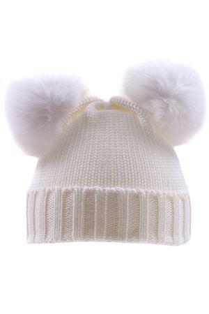 Cappello topo con pon pon REGINA | 5032304 | 80100BIANCO
