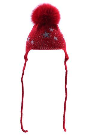 Cappello con copriorecchie REGINA | 5032304 | 80215ROSSO
