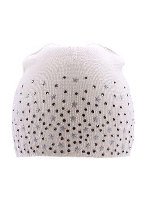 Cappello con strass e borchie REGINA | 5032304 | 80242BIANCO