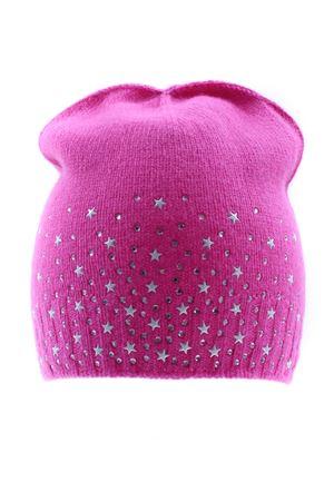 Cappello con strass e borchie REGINA | 5032304 | 80242CFUCSIA