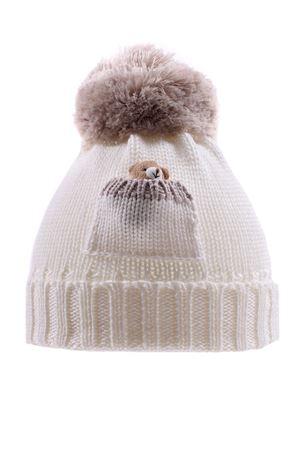 Cappello con orsetto REGINA | 5032304 | 80439BIANCO