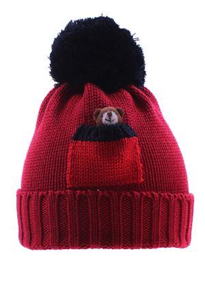 Cappello con orsetto REGINA | 5032304 | 80439CARDINALE