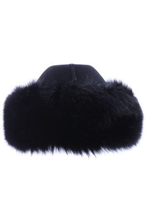Cappello bordo pelliccia REGINA   5032304   80603NERO