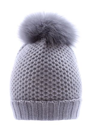 Hat with pom pon REGINA   5032304   80670LEGA