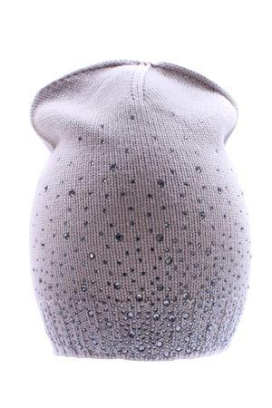 Wool hat with rhinestones REGINA   5032304   80727PINOLO