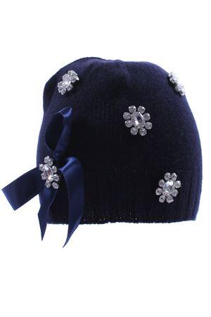 Cappello con fiocco e strass REGINA | 5032304 | 80817AVIO