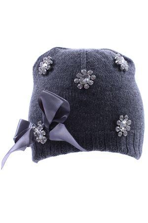 Cappello con fiocco e strass REGINA | 5032304 | 80817PIOMBO