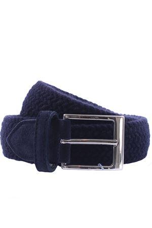 Wool belt in woven elastic SADDLER
