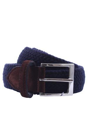 Cintura in elastico di lana intrecciata SADDLER