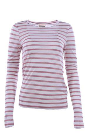 T-shirt riga orizzontale SEMICOUTURE | 8 | A8SS8AJ113750