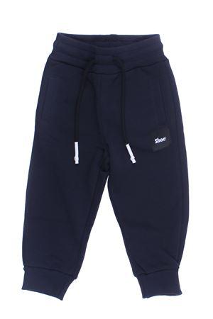 Pantalone jogging in felpa SHOE | 5032272 | A8PM16NAVY