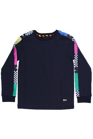 T-shirt girocollo SHOE | 8 | A8TLM48BLUE