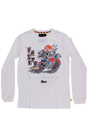T-shirt girocollo in cotone SHOE | 8 | A8TM0413WHITE