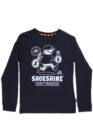 T-shirt girocollo in cotone SHOE | 8 | A8TM0415ANTHRA
