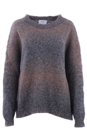 Crew neck with sequins SNOBBY SHEEP | -161048383 | 47030TAUPE