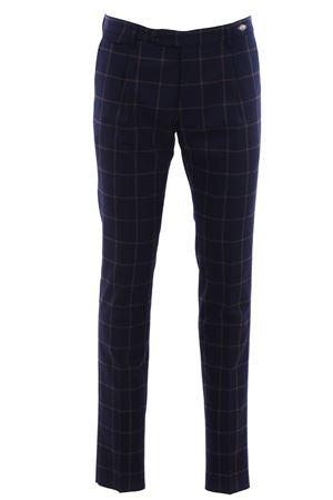 Pantalone in check di lana TAGLIATORE | 5032272 | TAG1112WIZ207K1489