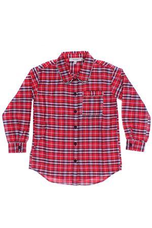 Camicia jacquard check TWIN SET | 5032279 | GA824N03012