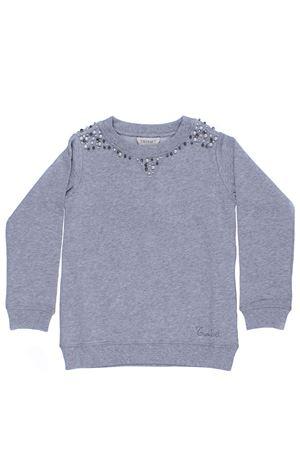 Sweatshirt with applications TWIN SET | -161048383 | GA82V1082C