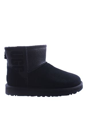 Boots classic mini with writing 