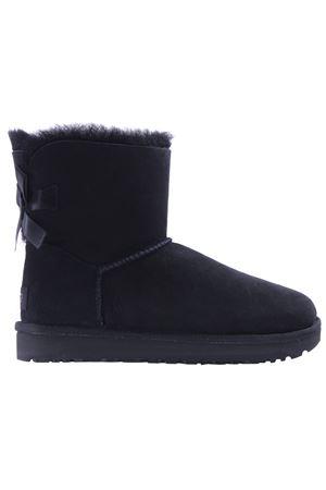 Mini bailey bow shearling boots UGG | 5032299 | WMINIBAILEYBOWII1016501WBLK