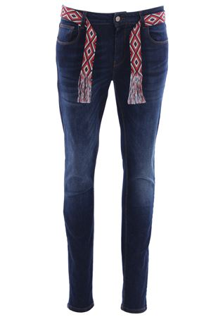 Jeans sofydenim super stretch with belt UP JEANS | 24 | UWPA116DENIM