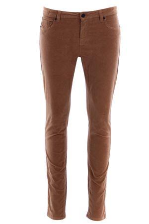 Pantaloni cinque tasche skinny in velluto UP JEANS | 5032272 | UWPA133SFTABACCO