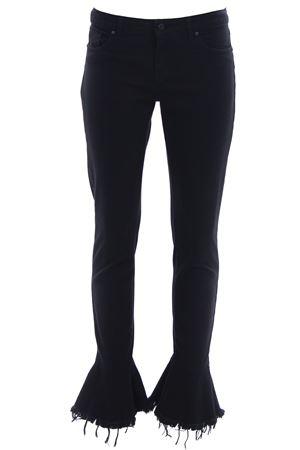 Pantaloni chacha fray bull comfort UP JEANS | 5032272 | UWPA147SBNERO