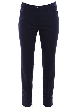 Pantaloni in lana con risvolto VIA MASINI 80 | 5032272 | CORSOITALIAA18M654ME464