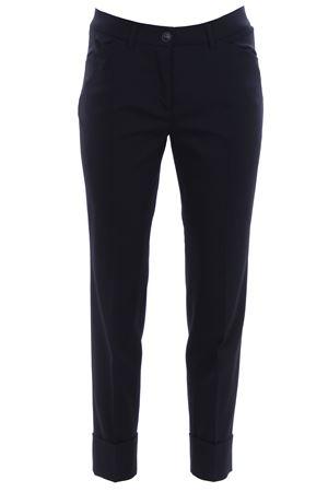 Pantaloni in lana con risvolto VIA MASINI 80 | 5032272 | CORSOITALIAA18M654ME466