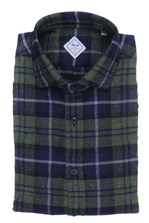 Camicia check heritage limited edition in flanella bottonata XACUS | 5032279 | 422ML31363002