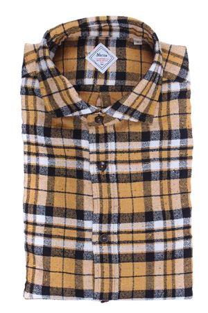 Camicia check heritage limited edition in flanella bottonata XACUS | 5032279 | 422ML31363006