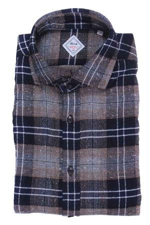 Camicia check heritage limited edition in flanella bottonata XACUS | 5032279 | 422ML31363010